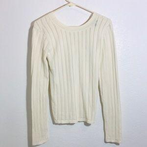 Theory cross back sweater